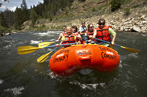 River Rafting on the Salmon River