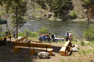 River Rafting Trips and Gourmet food